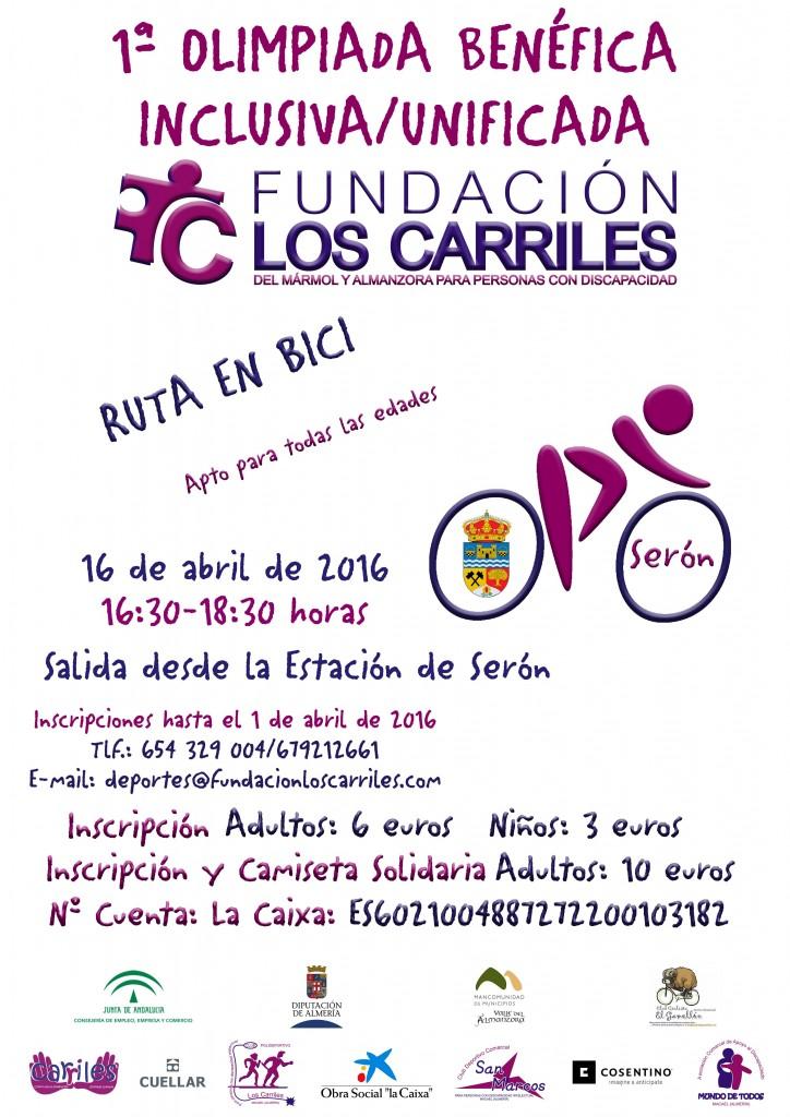 I JORNADAS CICLISMO RUTA LOS CARRILES (1)