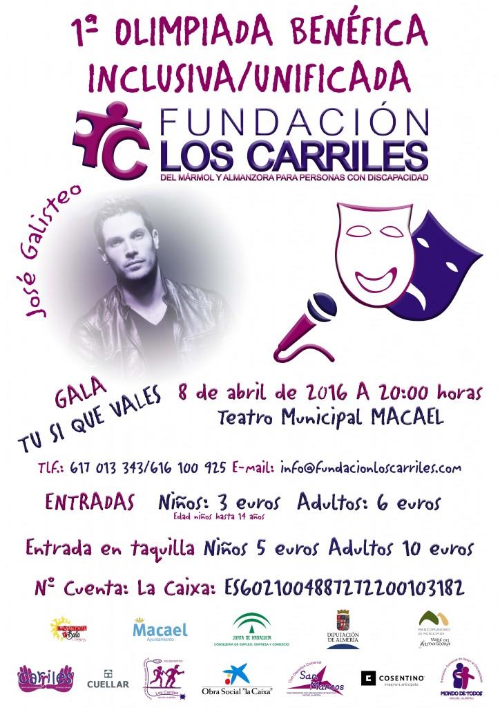 I JORNADAS GALA TU SI QUE VALES LOS CARRILES GALISTEO (1)